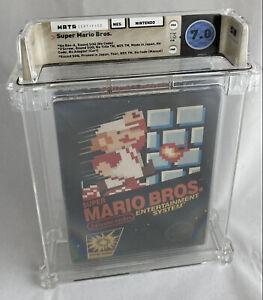 WATA 7.0 CiB NES Super MARIO Bros. (Nintendo Entertainment System, 1985)