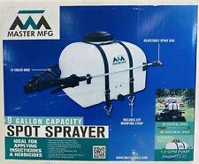 Master Mfg 9 Gal Spot Sprayer 12volt 1 Gpm Pump Atv Mount Ssd 03 009b Mm Nib