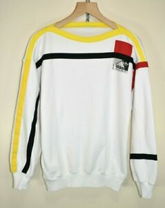 1986-Allemagne-Adidas-Vintage-Football-Pull-Soccer-Jersey-Sweat-coupe-du-monde