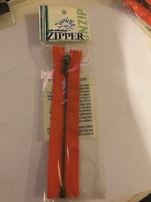 """Junkitz 6/"""" Tangerine Zipper"""