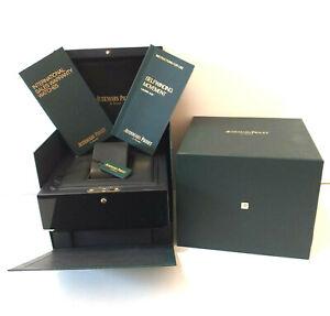 ORIGINALE BOX AUDEMARS PIGUET ROYAL OAK CALIBRO 3120 COMPLETO REF. EV.700.023