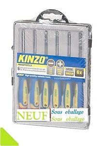 PORT-0-Kit-de-tournevis-de-precision-6-Pieces-Kit-de-6-NEUF-Sous-Emballage