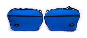 Koffer-Inliner-Tasche-Erweiterbar-Passend-fuer-Ducati-ST4S-Blau-Hohe-Qualitaet