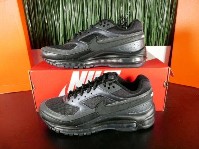 Nike Air Max 97 BW Triple Black Running Shoes AO2406 001 Womens SZ 7.5 9