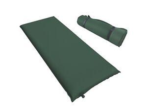 isomatte xl selbstaufblasend campingmatte thermomatte 200 x 66 x 10 cm in gr n ebay. Black Bedroom Furniture Sets. Home Design Ideas