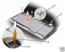 DELL Tastatur XPS M1730 Keyboard Deutsch M 1730 German QWERTZ Beleuchtung Silber