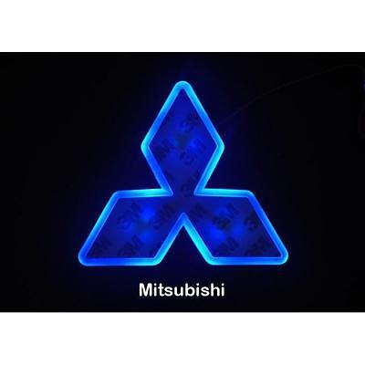 4D LED Car Tail Logo Blue Light for Mitsubishi Outland Lancer Auto Badge Light