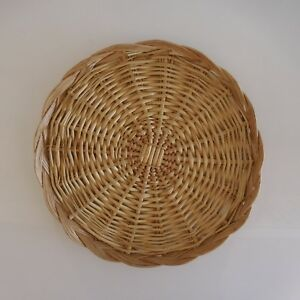 Plateau-de-service-en-osier-wicker-tray-fait-main-handmade-art-deco-France