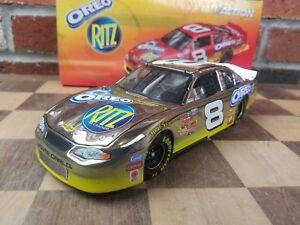 Dale-Earnhardt-Jr-8-2003-RITZ-Oreo-Action-1-24-scale-GM-Dealers-18k-WHITE-GOLD