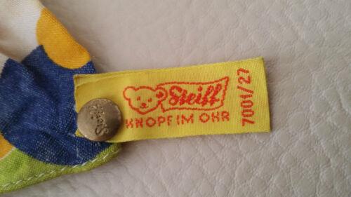Steiff Alte STEIFF Handpuppe Kasper 7001/27 mit zwei Glöckchen