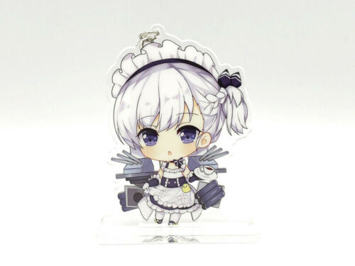 Azur Lane AL Belchan Cute Double-sided Acrylic Keychain Charm