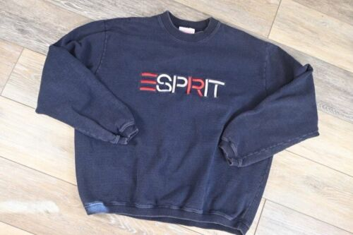 Vintage 90s Vintage ESPRIT tshirt big logo Spell out embroidery esprit roundneck