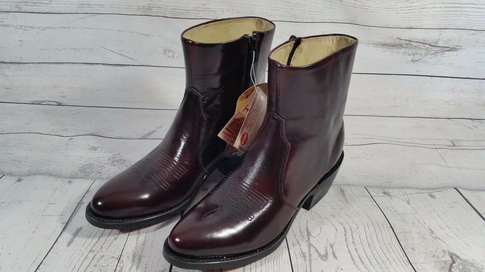 NEW  Durango Womens Size 6EE Boots Leather Western Cowgirl Boots with Side Zipper  sell like hot cakes