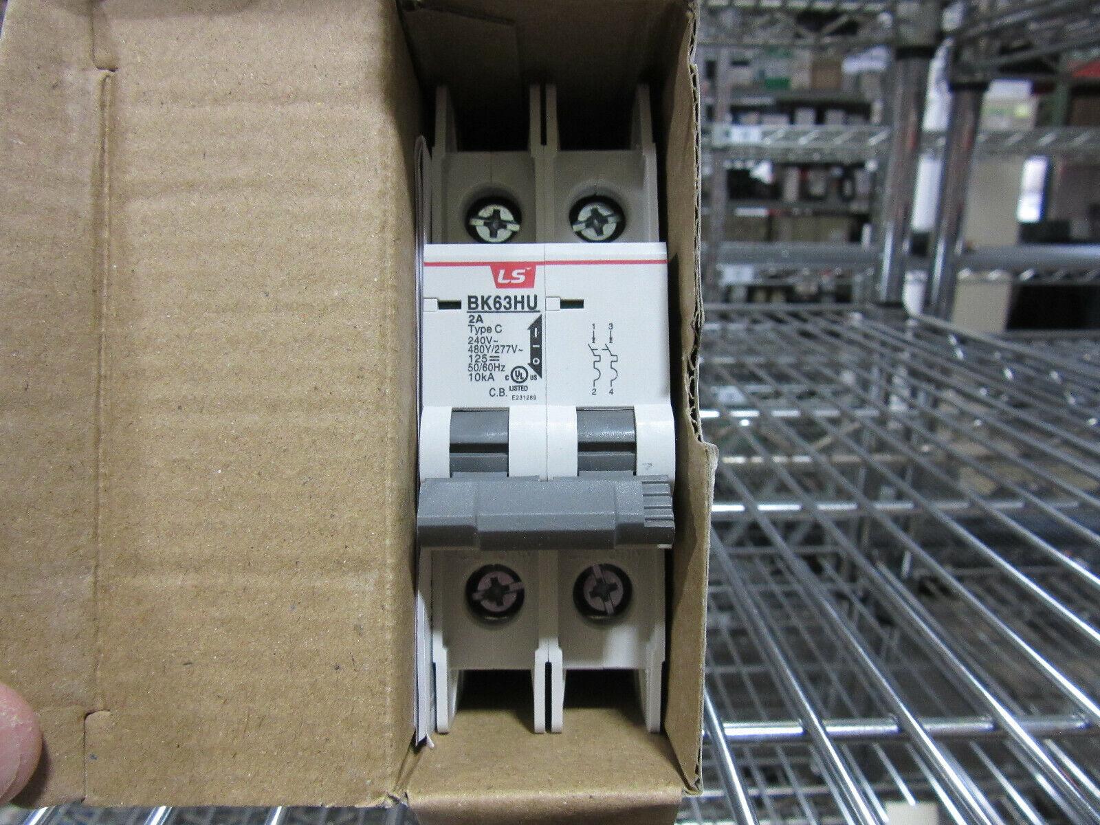 Details about  /LSIS BK63HU 6A AX-HU CIRCUIT BREAKER 6AMP 1POLE
