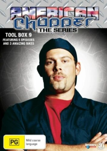 1 of 1 - American Chopper : Collection 9 (DVD, 2008, 3-Disc Set) - Region 4