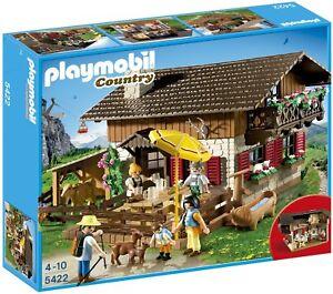 Playmobil 5422 Le Chalet De Montagne Neuf