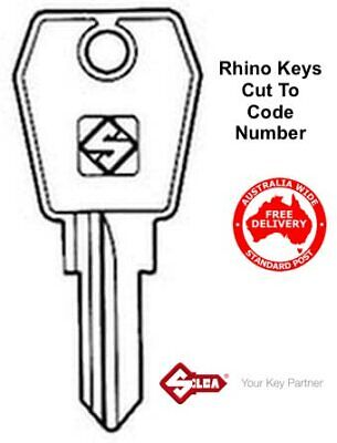 Rhino Roof Rack Keys Made To Code Number-Thule,Rola,-FREE POSTAGE
