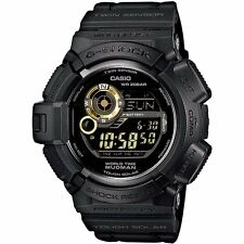 *NEW* CASIO MENS G SHOCK MUDMAN GOLD WATCH SOLAR THEMOMETER G9300GB-1 1D RRP£189
