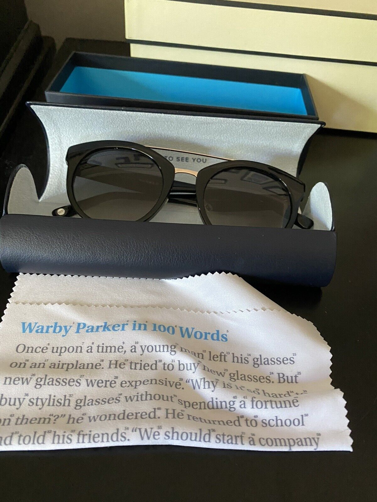 Warby Parker Winnie Sunglasses (made In Italy) - image 2