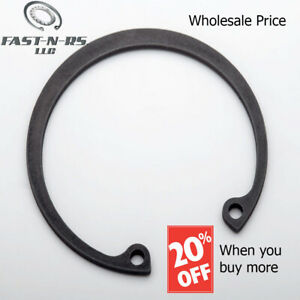 Pack of 75 Phosphate Finish External Retaining Ring//Snap Ring 3-5//32