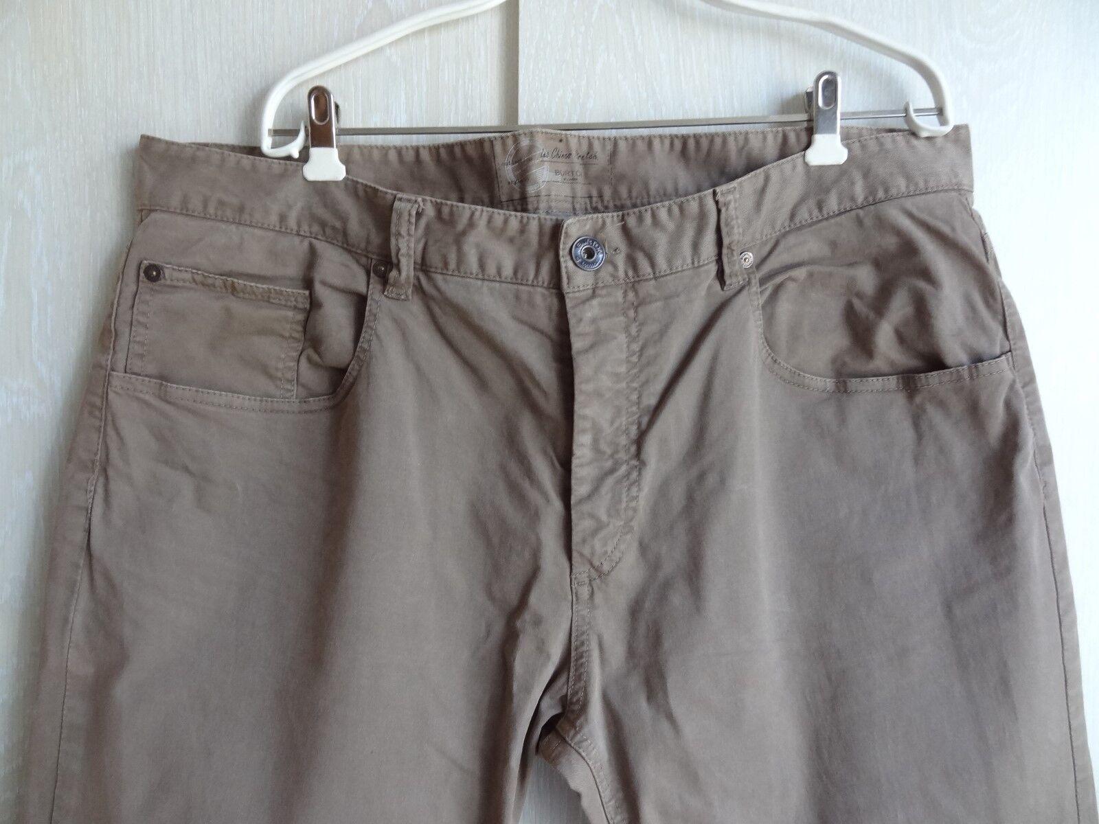 Pantalon Of 962beb Burton 50 London Marron Taille RrqUxzR