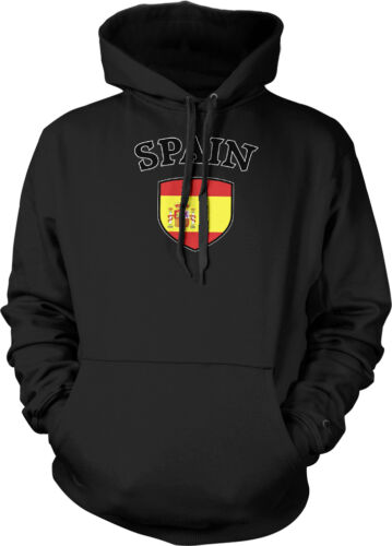 Espagne Drapeau Crest ESPANA national espagnol Soccer Football Pride Sweat à capuche Pullover