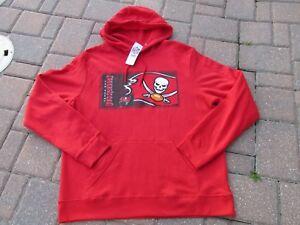 NEW NFL Tampa Bay Buccaneers Hoodie Sweatshirt MENS Large Football ... 4912130a000e9
