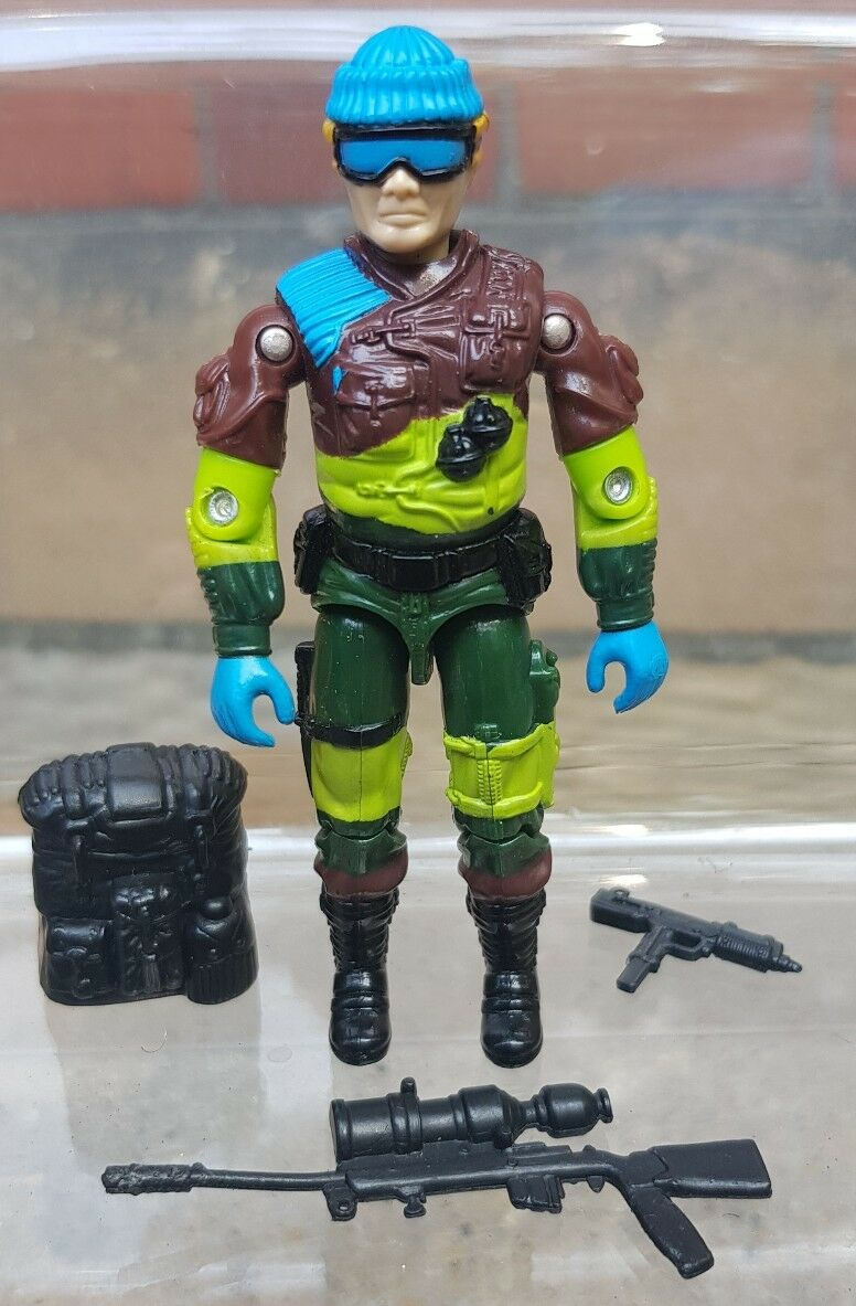Action Force/GI Joe Vintage 1987 UK Exclusive Niedriglight Sgt Slaughters Marauders