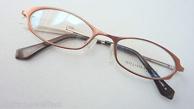 2019 Neuestes Design Marken-fassung Brille Frauen Gestell Mit Kleinen Gläsern Kupferbraun Grösse M Ausreichende Versorgung
