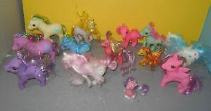 Lot Of Assorted My Little Pony Fakies Fake Ponies Toys W One Gem Eyes Hasbro Ebay