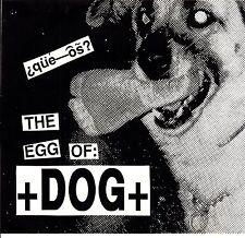 "+dog+ que-os 7"" on stomach ache records"