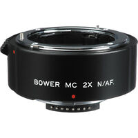 Bower 2x Af Teleconverter (4-element) For Nikon N / Af-d Lenses