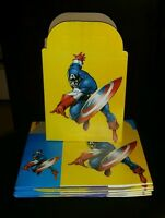 Captain America Party Favor Boxes 10ct Loot Treat Goody Bags Party Supplies