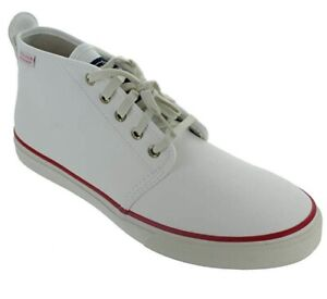 Cloud Chukka White Mens Sperry Ankle Boots