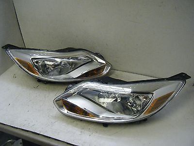 SALE NOS FORD FOCUS SET 2012 2013 2014 12 13 14 OEM HEADLIGHT LAMP ASSEMBLY
