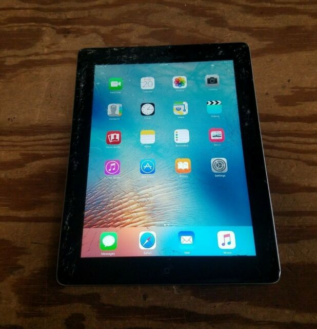 Black NEW Apple iPad 3rd Gen Wi-Fi A1403 9.7in 64GB Cellular Unlocked