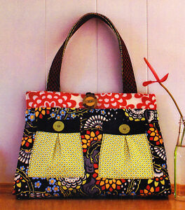 PATTERN-Black-Forest-stylish-fabric-bag-with-pockets-PATTERN-Melly-amp-Me