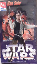 1995 STAR WARS Han Solo Ltd Ed Plastic Model Kit- MPC- FREE S&H (SWMO-8750)