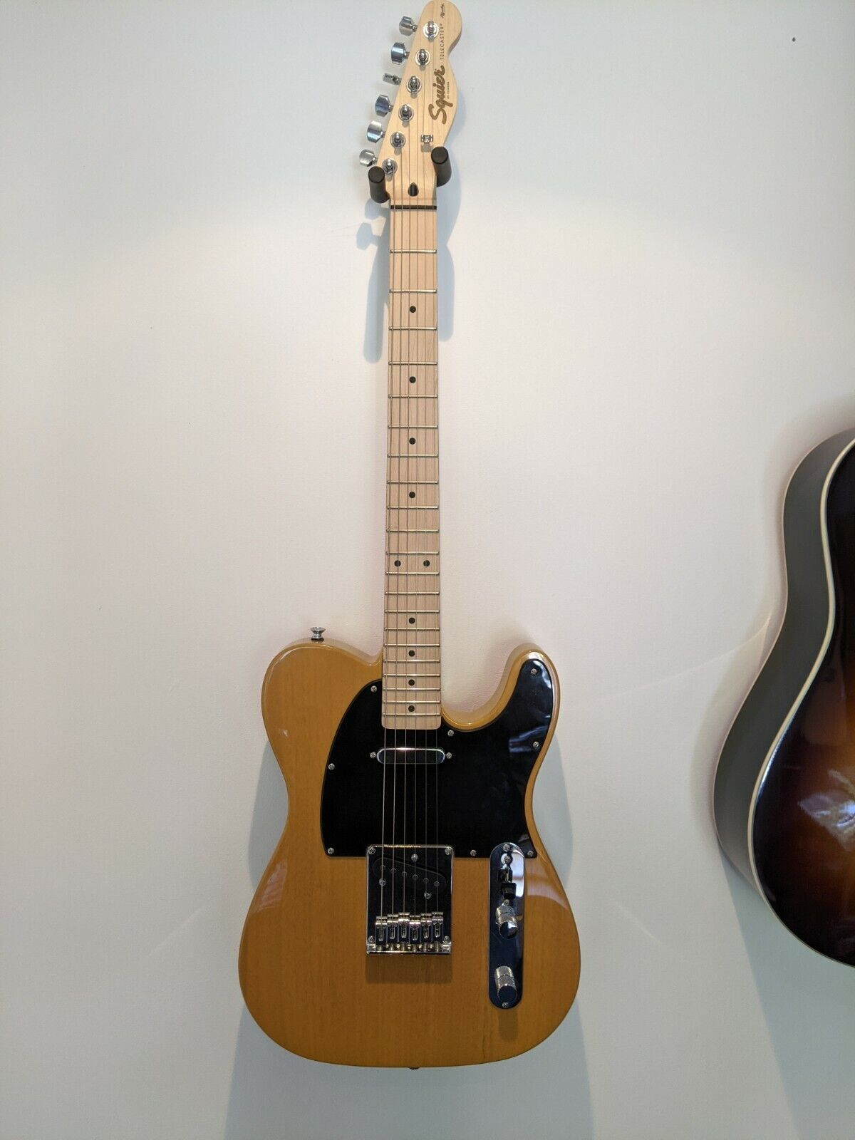 This Squier Telecaster electric guitar is for sale - Squier Affinity Telecaster Butterscotch Blonde Excellent Condition.