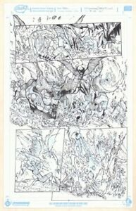 Außerordentliche X-Men # 3 P.4 - Storm, Anolis, & Glob Herman Kunst Von Humberto