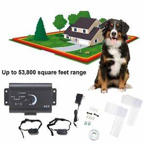 Upgrade-2-amp-3-Dogs-Electric-Dog-Fence-Waterproof-Safe-Shock-Collars