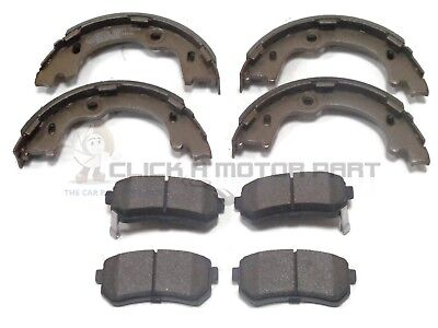 Fits Kia Sportage 1.7 CRDi Genuine Mintex Rear Handbrake Shoe Set