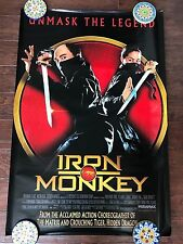 IRON MONKEY 27X40 DS MOVIE POSTER ONE SHEET NEW AUTHENTIC