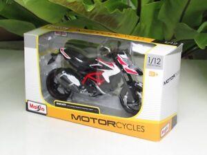 Maisto-1-12-Diecast-Motorcycle-Ducati-Hypermotard-821-SP-2013-Supermoto
