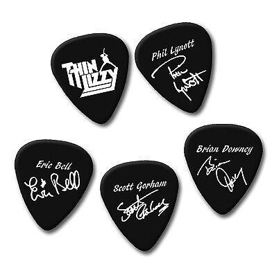 Killers 5 X Logo Guitar Picks in Tin Plectrums
