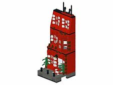 Lego - Bricksy's Modern Town - K04 - Haus III - rot