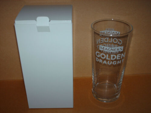 Magners Golden Draught cider pint glass with gift box