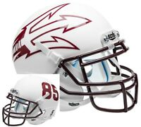 Arizona State Sun Devils White 85 Schutt Xp Full Size Replica Football Helmet