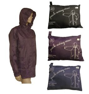 damen regenjacke faltbar und wasserdicht mac in bag ebay. Black Bedroom Furniture Sets. Home Design Ideas