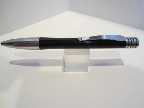 "TERZETTI /""FOURSOME/"" Metal Large Heavy Ballpoint Pen Velvet Pouch"
